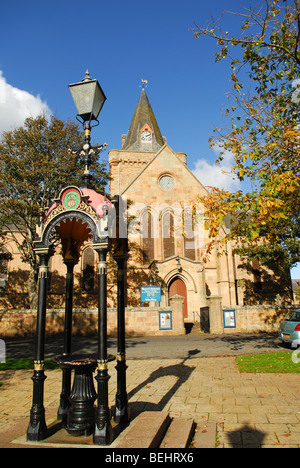 Dornoch Cathedral Sutherland Scotland. - Stock Photo
