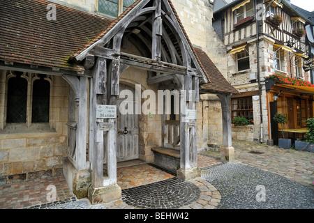The Maritime Museum / Musée de la Marine in the former Saint Etienne church at Honfleur, Normandy, France - Stock Photo