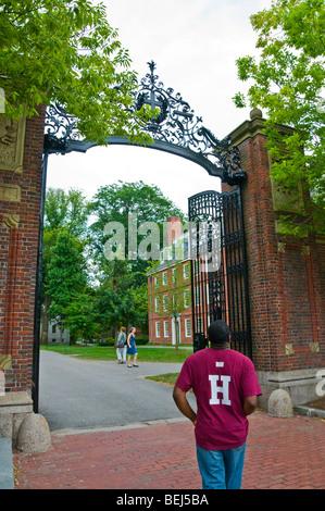 Harvard University Cambridge, Massachusetts - Stock Photo