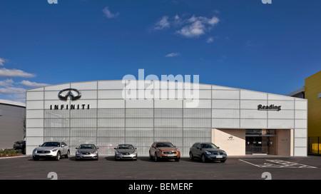Infiniti Dealer Reading >> Infiniti Car Showroom In Reading Stock Photo Royalty Free Image