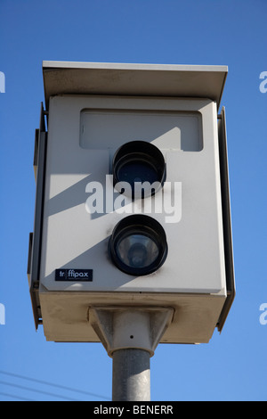 traffipax speed control camera in larnaca in the republic of cyprus Stock Photo