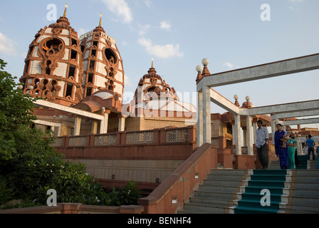 Iskcon Temple New Delhi India - Stock Photo