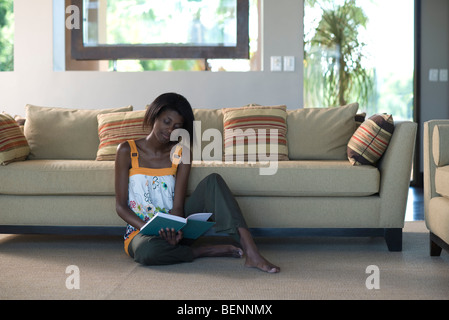 Cushions On Sofa In Living Room Stock Photo Royalty Free