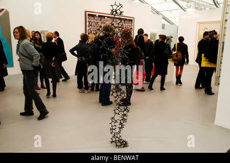 Frieze art fair 2009 Regents Park London - Stock Photo