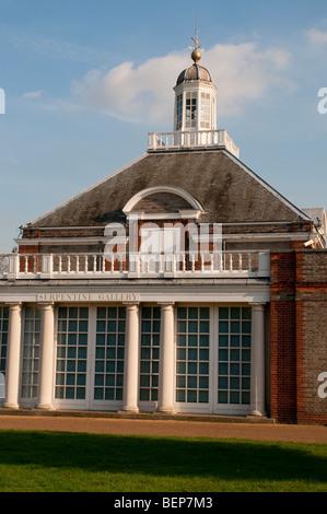 Serpentine Gallery, Kensington Gardens, London W2 - Stock Photo