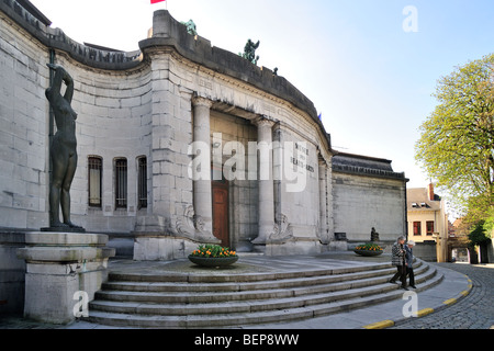The museum of fine art / Musée des Beaux-Arts, Tournai, Belgium - Stock Photo