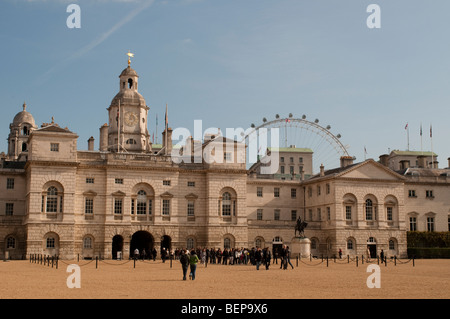 Horse Guards Parade, Westminster, London SW1, UK - Stock Photo