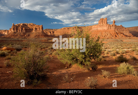 Valley Of the Gods, Utah, USA - Stock Photo