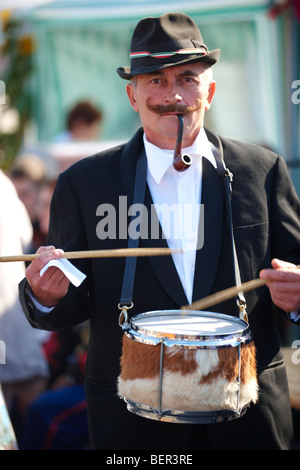 Man in Hungarian traditional dress -  Hungary - Stock Photo