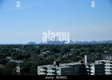 Downtown Toronto, Canada Skyline - Stock Photo