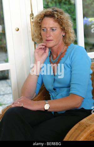 Depressed woman, 40s woman despondent - SerieCVS500001 - Stock Photo