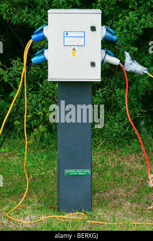 electrical hook up camping argos