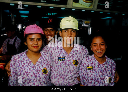 mexicans  mexican men  mexican women  employees  at work  workers stock photo 4900094 alamy McDonald's Food Safety Certificate Food Safety McDonald's Beef
