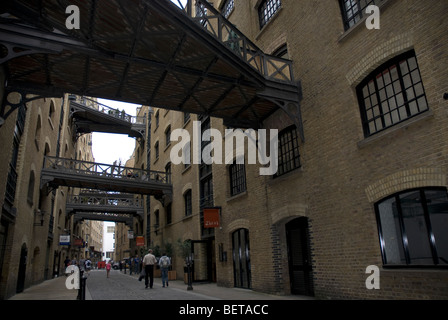 Converted warehouses in Shad Thames Bermondsey South East London