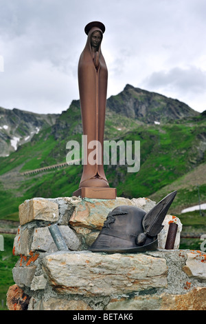 Statue of Saint-Bernard at the Great Saint Bernard Pass / Col du ...