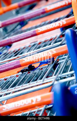 British Supermarket Shop Food Bill Showing Shopping