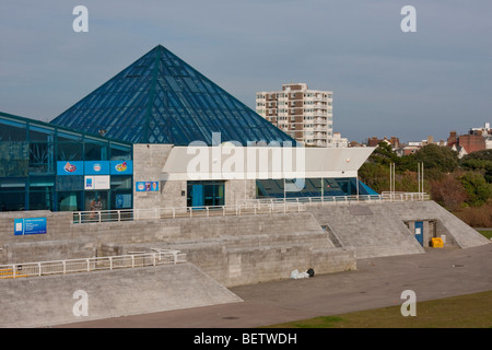 Portsmouth Pyramids Centre in Southsea, England UK. - Stock Photo