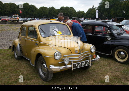 renault 4 classic french small car face radiator and headlights stock photo 73301651 alamy. Black Bedroom Furniture Sets. Home Design Ideas