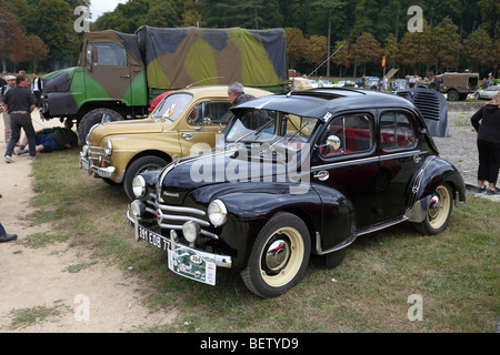 a classic car the renault 4 in a french village stock photo royalty free image 22203458 alamy. Black Bedroom Furniture Sets. Home Design Ideas