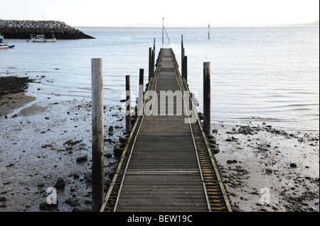 Jetty out to sea - Stock Photo