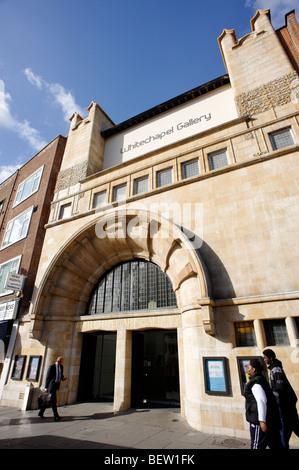 Whitechapel Gallery. London. Britain. UK - Stock Photo