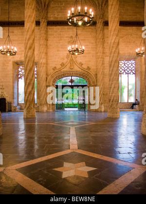 Hall of the Silk Exchange (La Lonja de la Seda) in Valencia, Spain - Stock Photo