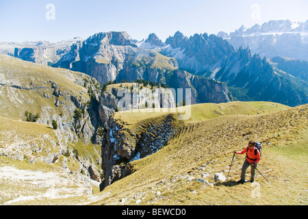 Puez-Geisler, Dolomiti, Italy - Stock Photo
