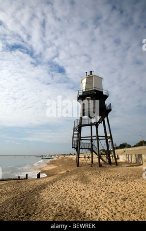 Lighthouse Dovercourt Harwich Essex England - Stock Photo