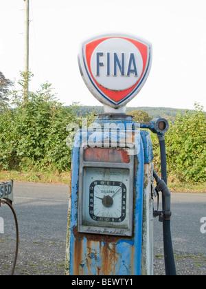 Old petrol pump - Stock Photo