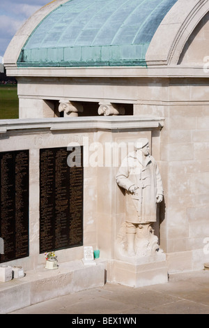 War Memorial on Clarence Esplanade, Portsmouth & Southsea, England UK. - Stock Photo
