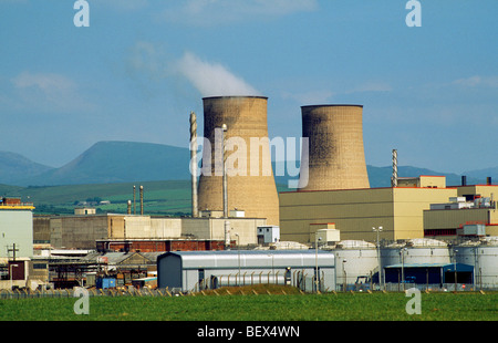 Nuclear Plant at Sellafield, Cumbria, North West England - Stock Photo