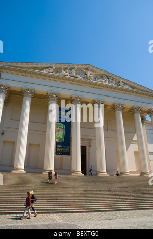 Magyar Nemzeti Muzeum the Hungarian National Museum in Budapest Hungary Europe - Stock Photo