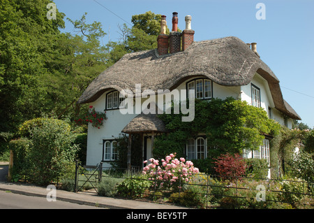 Beehive Cottage, Swan Green, Lyndhurst, New Forest, Hampshire, England, UK - Stock Photo