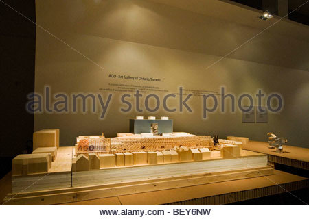 milan 2009, frank o. gehry exhibition - Stock Photo