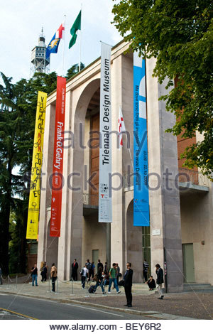 triennale, milan 2009, frank o. gehry exhibition - Stock Photo