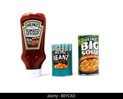 Heinz food products - Stock Photo