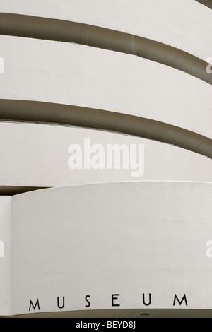 Solomon R. Guggenheim Museum, New York City - Stock Photo