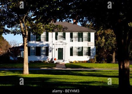 Jonathan Harrington house on the Green, Lexington Massachusetts USA