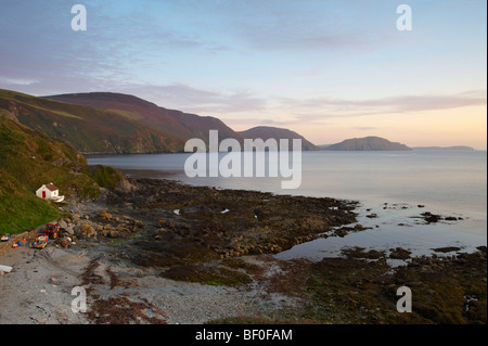 Niarbyl Bay Dalby Isle Of Man - Stock Photo