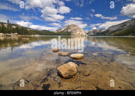 Lake Tenaya, Yosemite National Park, California - Stock Photo