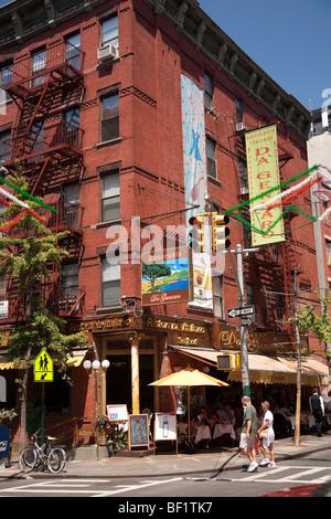 Little Italy, New York City - Stock Photo
