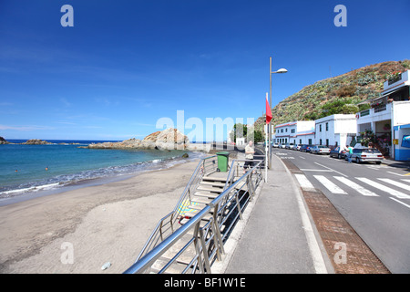 Tenerife, Canary Islands, Roques de Anaga, Anaga Mountains, mountain landscape - Stock Photo
