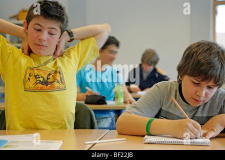 kids at school - Stock Photo