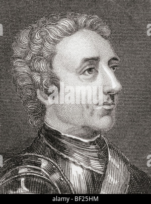Field Marshal Jeffery Amherst, 1st Baron Amherst of Montreal, 1717 to 1797. - Stock Photo