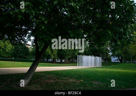 7 July Memorial in Hyde Park, London, UK - Stock Photo