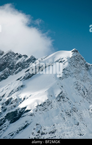 Rob Roy Glacier, New Zealand - Stock Photo