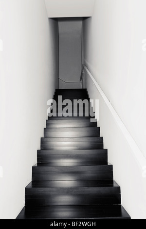 Staircase of a house - Stock Photo