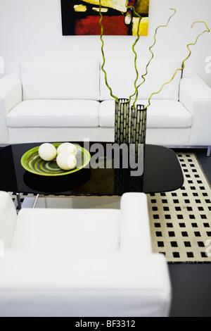 Showpieces On A Table; Showpieces On A Table   Stock Photo