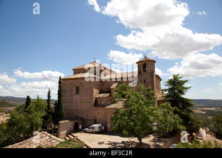 Spain, Alquezar, city views - Stock Photo