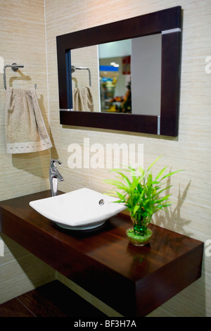Interiors of a bathroom - Stock Photo